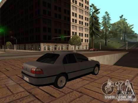 Opel Omega B 1998 v2 para GTA San Andreas vista direita