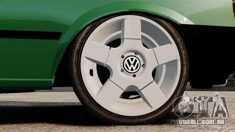 Volkswagen Gol GL 1992 Edit para GTA 4 vista de volta