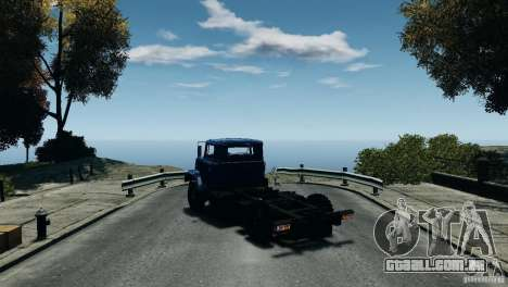 KrAZ-5133 para GTA 4 vista direita