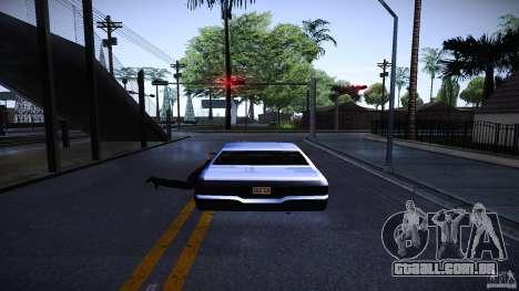 Os peões se agarram à auto para GTA San Andreas segunda tela
