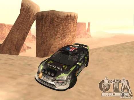 Ford Focus RS2000 v1.1 para GTA San Andreas