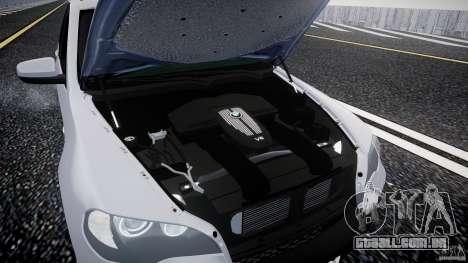 BMW X5 Experience Version 2009 Wheels 214 para GTA 4 vista de volta