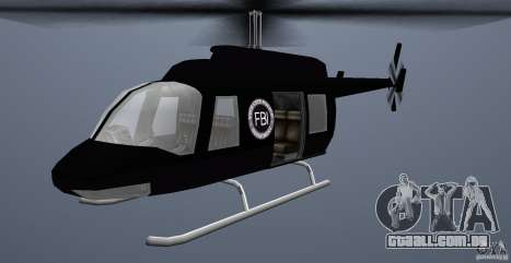 FBI Maverick para GTA Vice City deixou vista