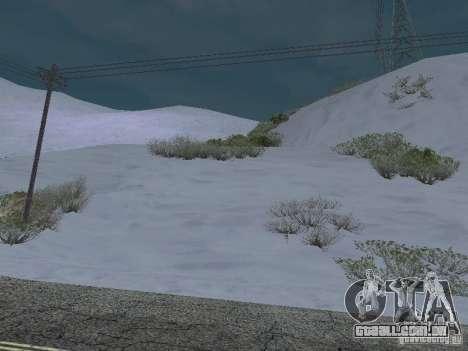 Frozen bone country para GTA San Andreas terceira tela