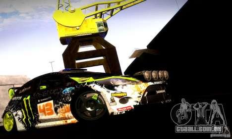 Ford Fiesta Gymkhana 5 para GTA San Andreas vista interior