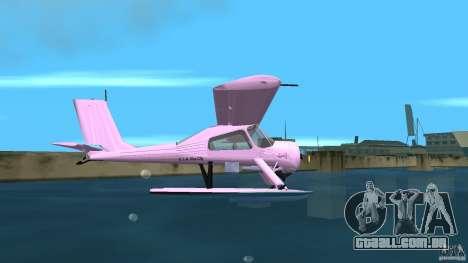 PZL 104 Wilga para GTA Vice City vista traseira esquerda