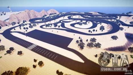 Dead Race Island para GTA 4 por diante tela