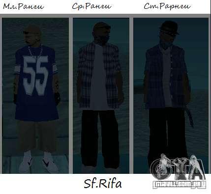 Peles de los Surenos 13 para GTA San Andreas