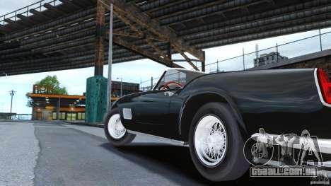 Ferrari 250 California 1957 para GTA 4 traseira esquerda vista