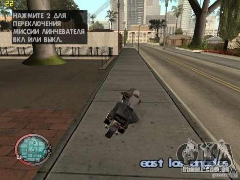 Adição para o GTA IV HUD para GTA San Andreas terceira tela