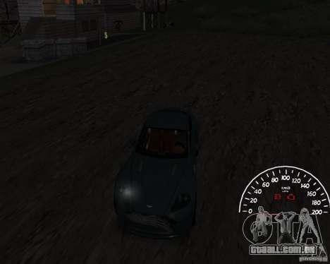 Velocímetro 1.0 para GTA San Andreas segunda tela