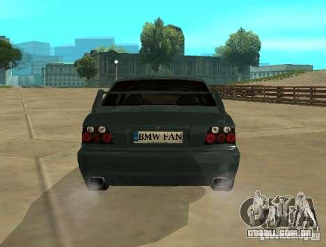BMW E36 Coupe para GTA San Andreas vista direita