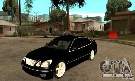TOYOTA ARISTO 2001 ano para GTA San Andreas