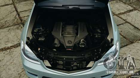 Mercedes-Benz S65 AMG 2012 v1.0 para GTA 4 vista inferior