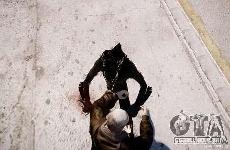 Werewolf from Skyrim para GTA 4 sexto tela