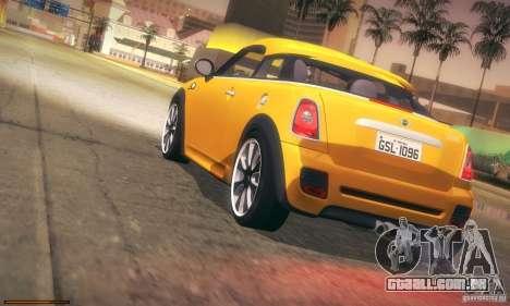 Mini Concept Coupe 2010 para GTA San Andreas vista superior