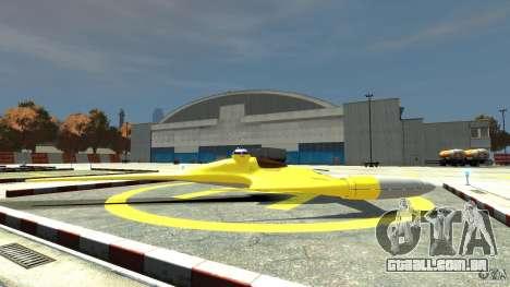 Naboofighter para GTA 4 esquerda vista