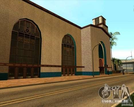 Nova estação Unity para GTA San Andreas
