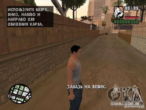 Skin para CJ-Cool guy para GTA San Andreas terceira tela