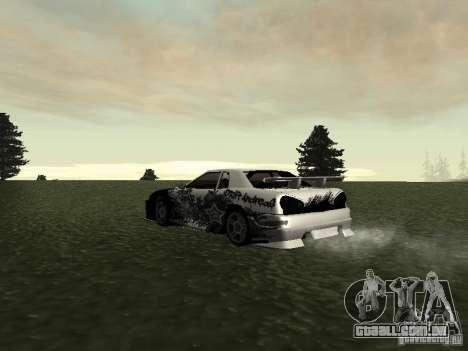 Drift Star para GTA San Andreas traseira esquerda vista