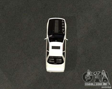 Nissan Silvia S13 streets phenomenon para GTA San Andreas vista direita