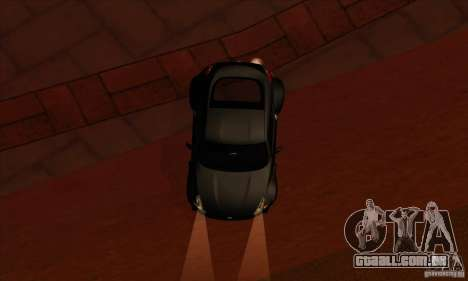 Nissan 370z Drift Edition para GTA San Andreas vista interior