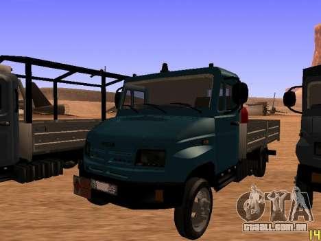 ZIL 5301 Goby para GTA San Andreas vista traseira