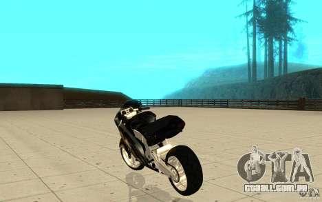 GTAIV TLAD Hakuchou Custom Version [paintjob] para GTA San Andreas traseira esquerda vista