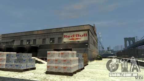 Red Bull Factory para GTA 4 segundo screenshot