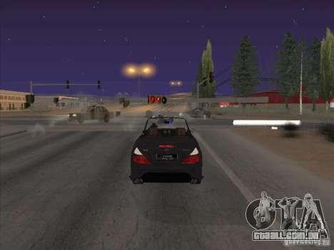 Campo de força para GTA San Andreas por diante tela