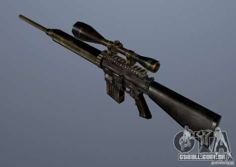 CS Guns Beta 1B para GTA San Andreas nono tela