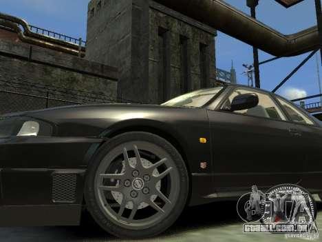 Nissan Skyline GT-R V-Spec (R33) 1997 para GTA 4 esquerda vista