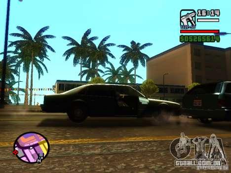 ENBSeries v2 para GTA San Andreas quinto tela
