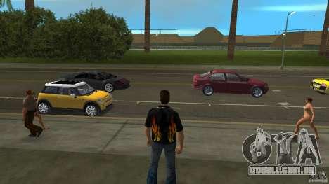 Senhor fogo com jeans azul para GTA Vice City segunda tela