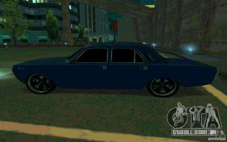 Volga GAZ 24 v2 (beta) para GTA San Andreas esquerda vista