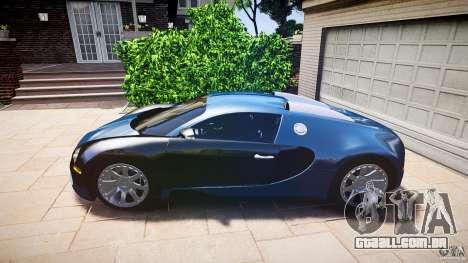 Bugatti Veyron 16.4 v3.0 2005 [EPM] Strasbourg para GTA 4 traseira esquerda vista