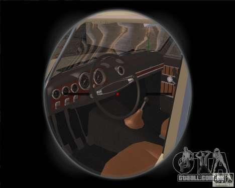 VAZ-2103 para GTA San Andreas vista traseira