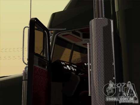 Freightliner FLD 120 Classic XL para GTA San Andreas vista interior
