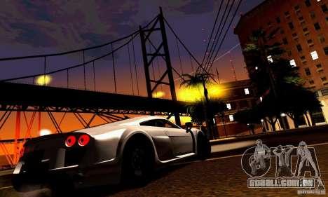 Noble M600 para vista lateral GTA San Andreas
