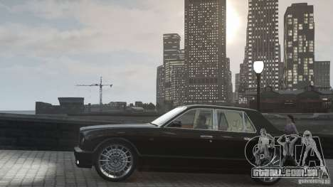 Bentley Arnage T v 2.0 para GTA 4 vista lateral