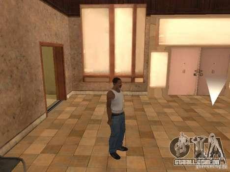 A entrada para o Hospital de Los Santos para GTA San Andreas terceira tela