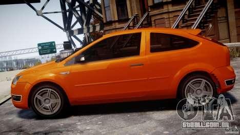 Ford Focus ST para GTA 4 esquerda vista