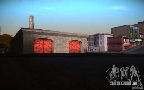 San Fierro Re-Textured para GTA San Andreas por diante tela