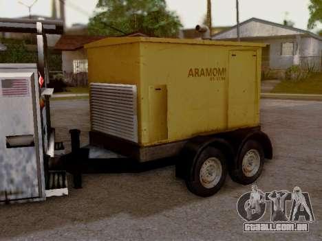 Trailer Generator para GTA San Andreas vista traseira
