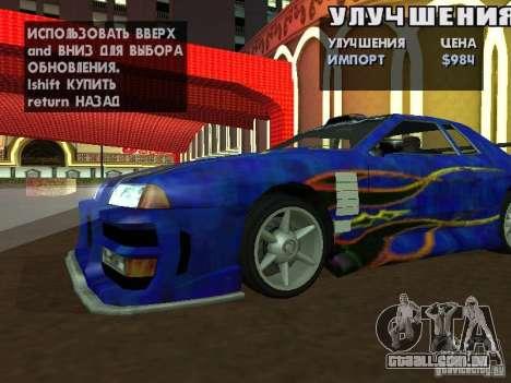 SA HQ Wheels para GTA San Andreas décimo tela