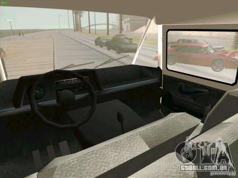 Zuk A-1805 para GTA San Andreas vista traseira
