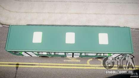 LIAZ 5256 para GTA 4 vista de volta
