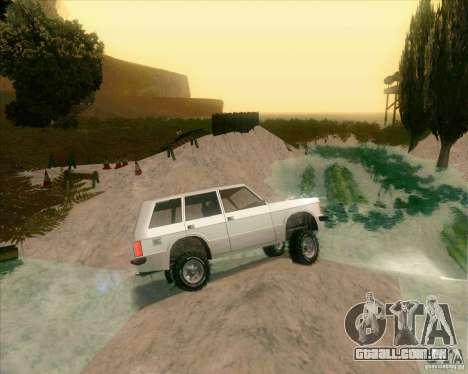 Off-Road Track para GTA San Andreas por diante tela