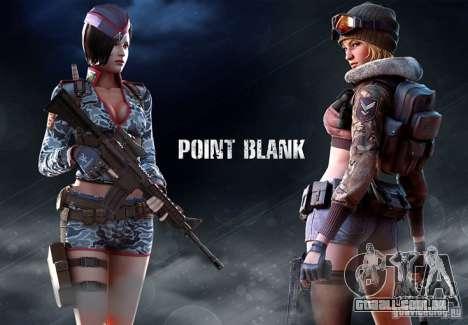 [Point Blank] Girl para GTA San Andreas