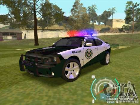 Dodge Charger Policia Civil from Fast Five para GTA San Andreas